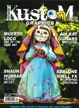 Pinstriping & Kustom Graphics Magazine