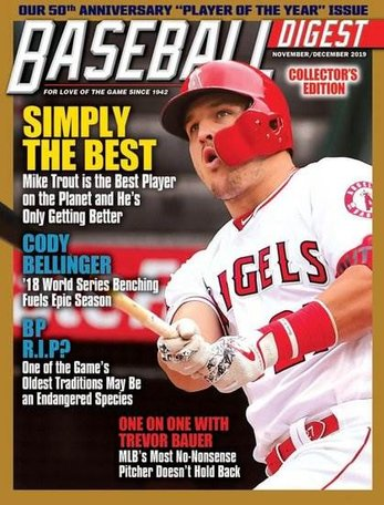 Baseball Digest Magazine